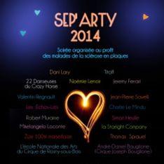 Sep'Arty : Un spectacle glamour, détonant et solidaire le 14 avril
