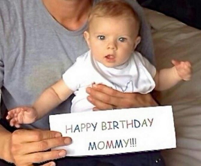 L'adorable message d'Axl pour sa maman Fergie