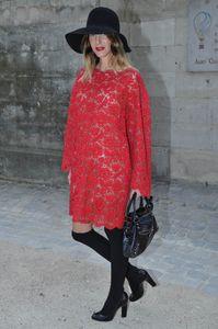 Street Style Chapeau, Fashion Week Paris 2014