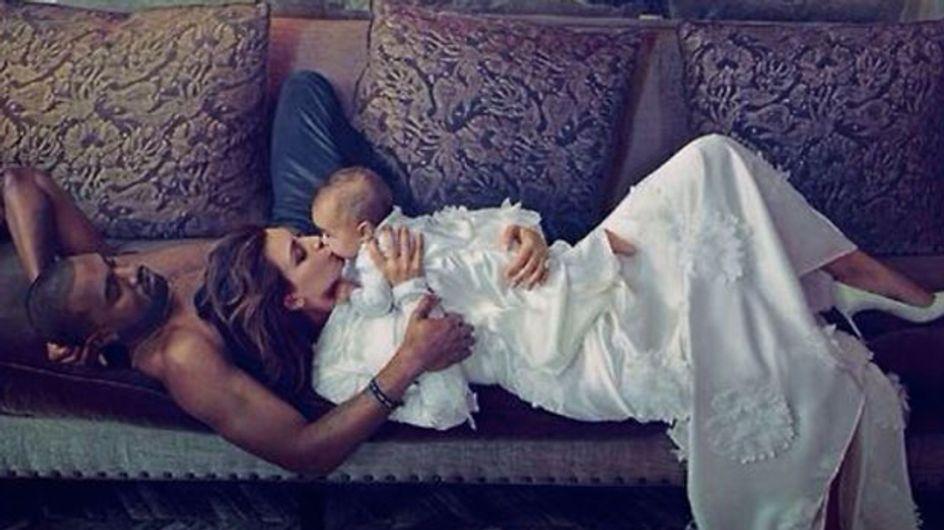 Kim Kardashian dans Vogue : Ouh le vilain effet Photoshop ! (photo)