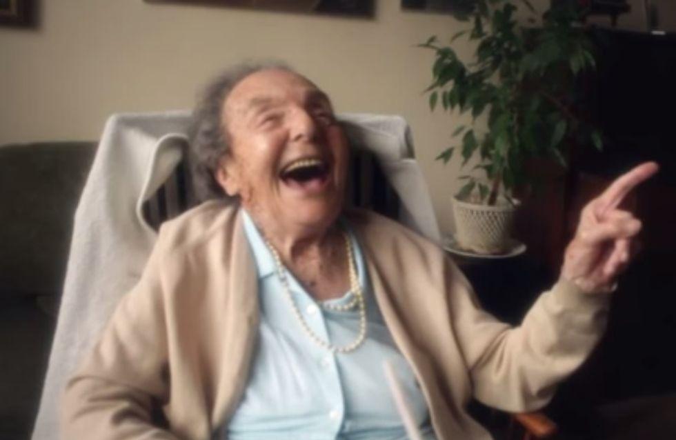L'émouvante dernière leçon de vie de cette vieille dame va vous inspirer pour le reste de la vôtre (vidéo)