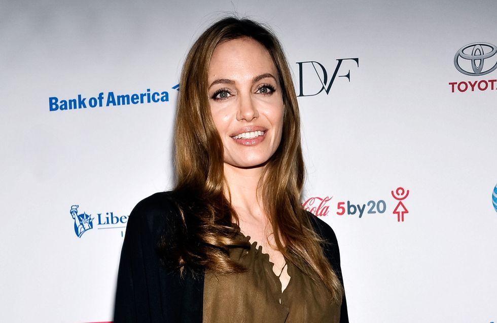 Angelina Jolie : Les larmes de son nouveau combat