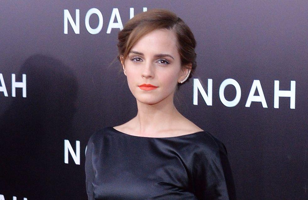 Emma Watson : Un look résolument dark sur le tapis rouge (photo)