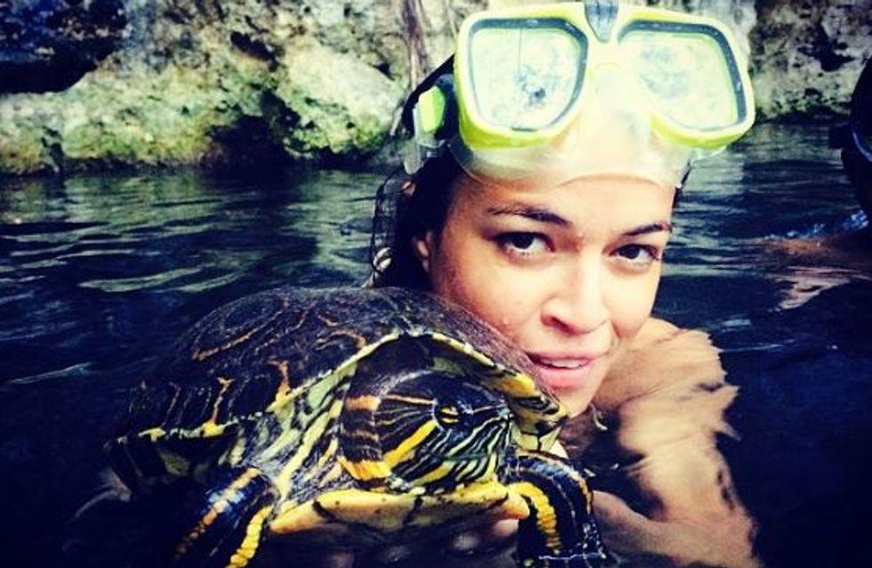 Cara Delevingne et Michelle Rodriguez : C'est l'amour à la plage ! (Photos)