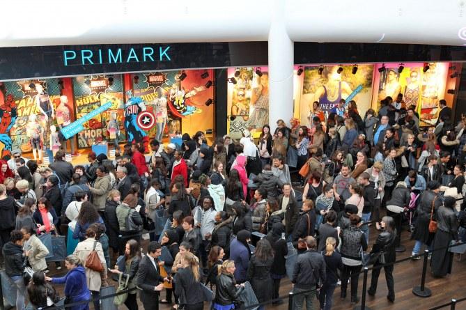 La nouvelle boutique Primark à Aulnay-sous-Bois