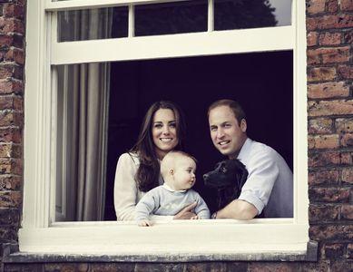 Kate, William et George