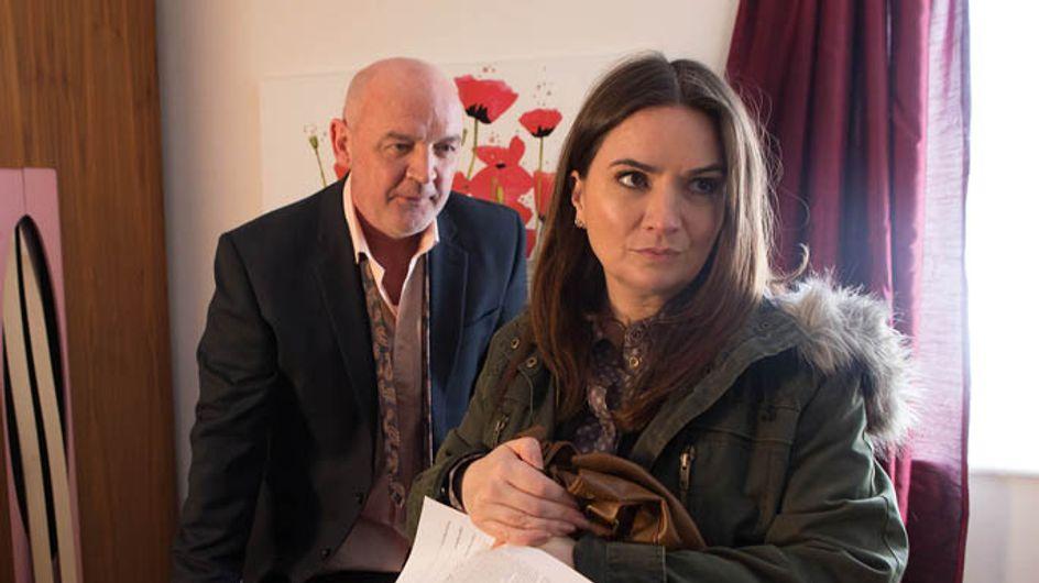 Coronation Street 9/04 – Phelan makes Anna a despicable proposal