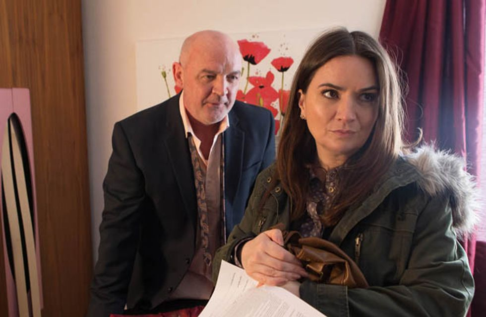Coronation Street 9/04 – Phelan makes Anna a despicable proposal