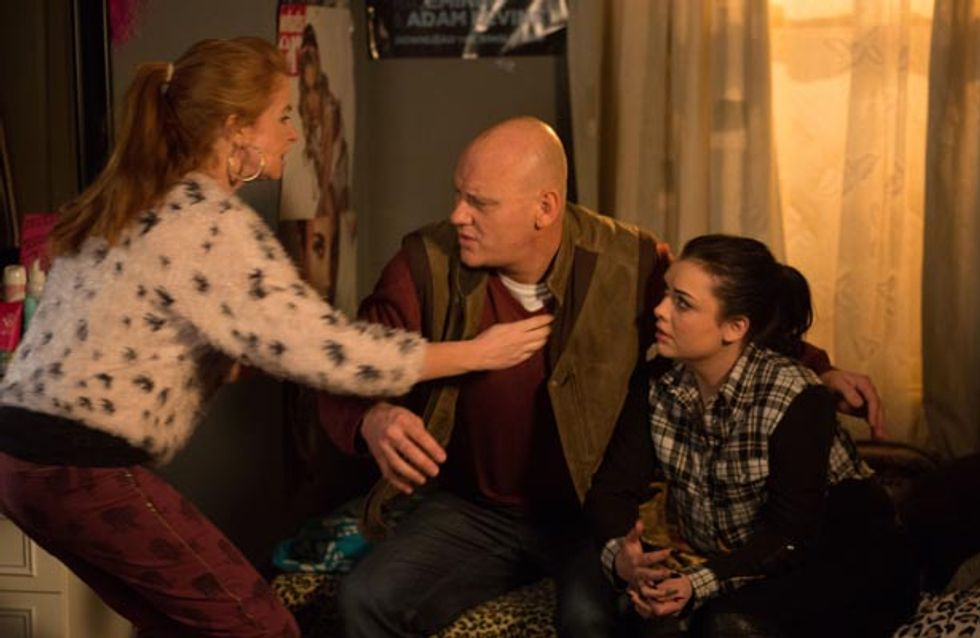 Eastenders 7/04 – Bianca nervously waits for her test results