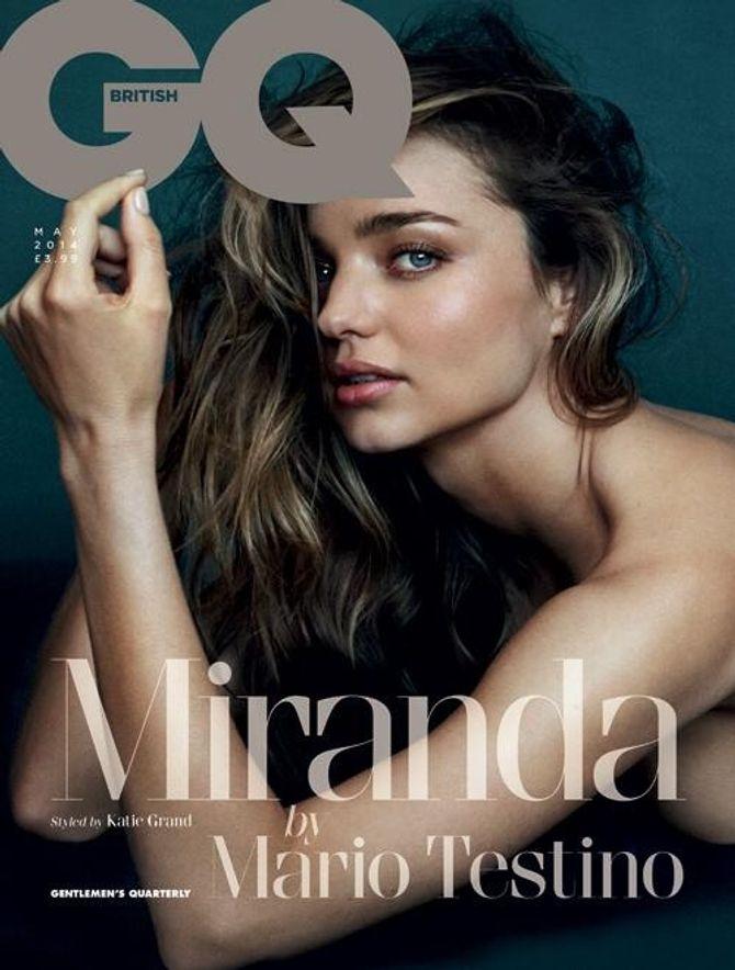 Miranda Kerr pour Gq