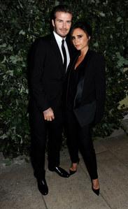 Victoria et David Beckham en septembre 2013