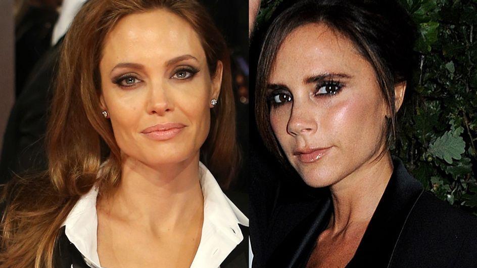 Angelina Jolie, Victoria Beckham… Toutes en smoking !