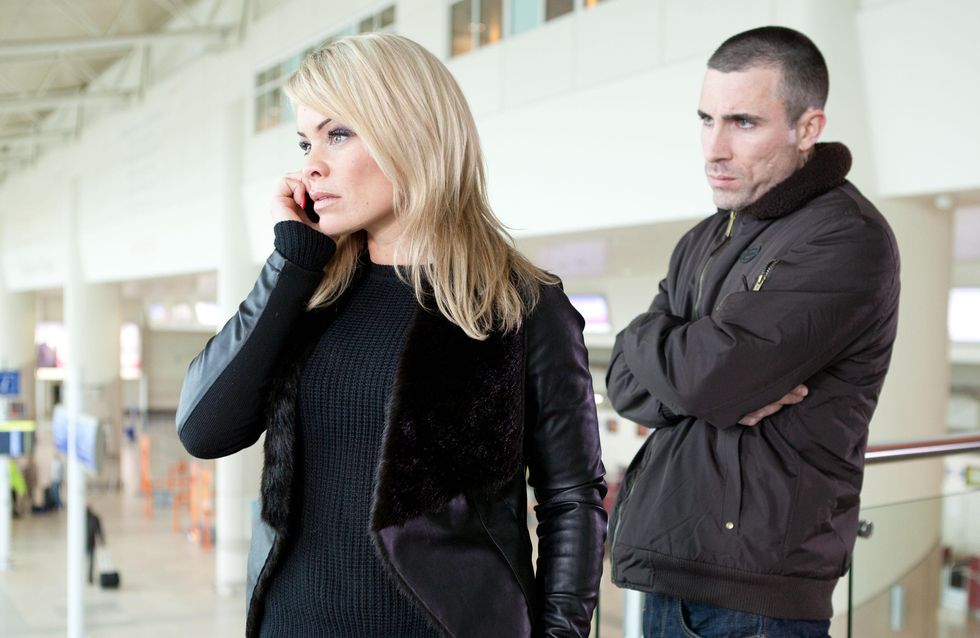 Hollyoaks 9/04 – Trevor and Grace prepare for their new lives