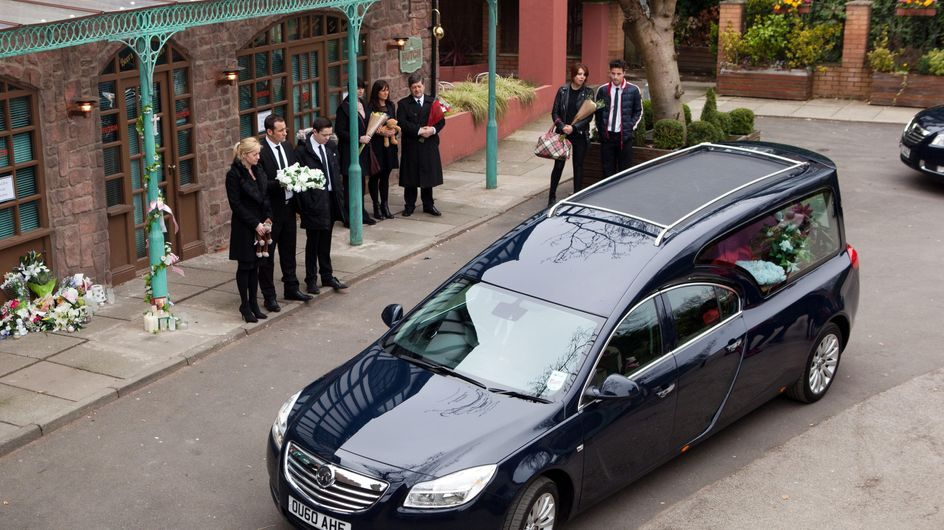 Hollyoaks 10/04 – The day of Katy's funeral arrives