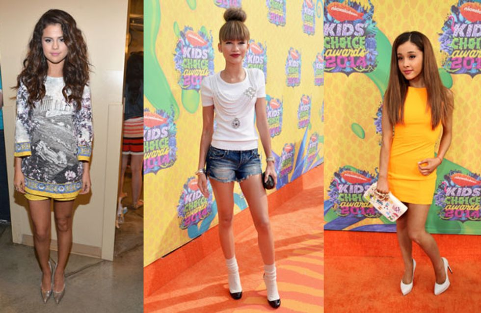 Flesh Flashing Frocks! What The Stars Wore To The Nickelodeon Kids' Choice Awards