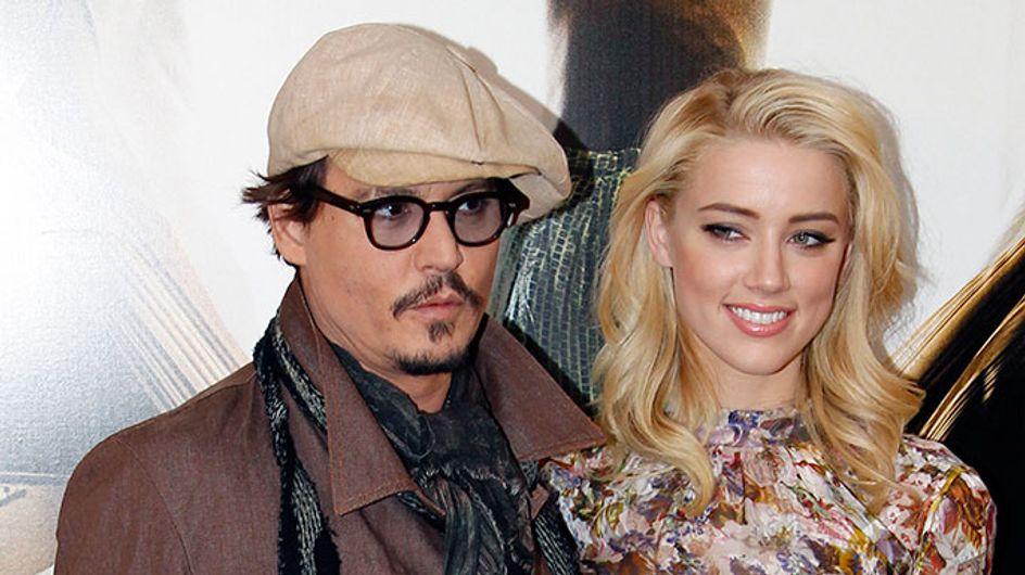 Johnny Depp : Comme Amber Heard, il porte une bague de fiançailles