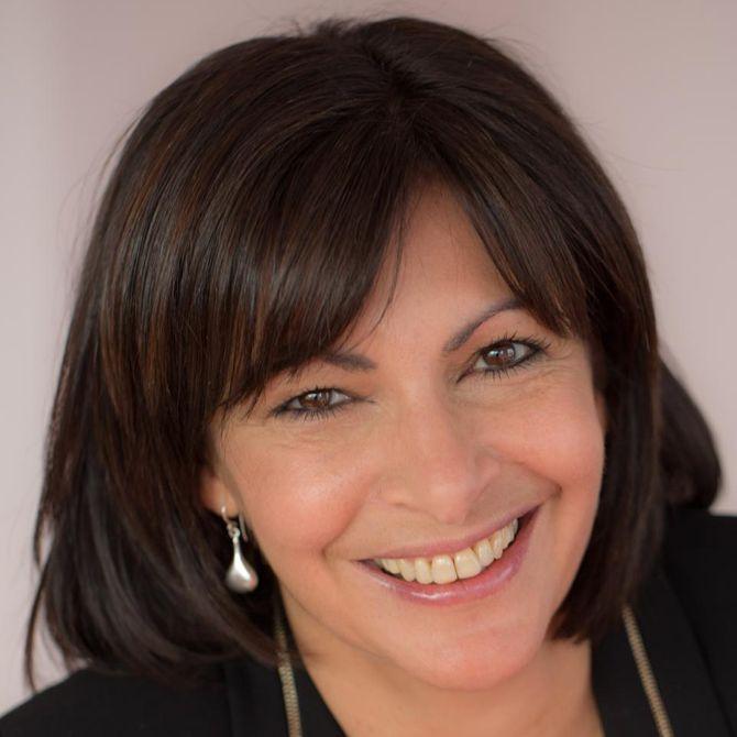 Anne Hidalgo, première femme à devenir maire de Paris