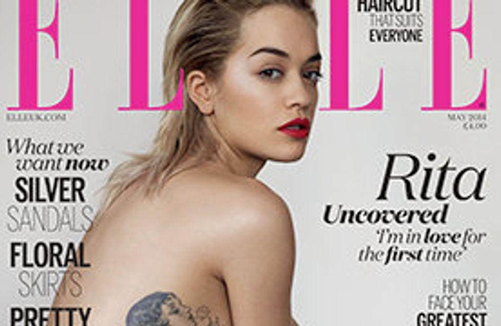 Rita Ora : Topless, elle dévoile son nouveau tatouage