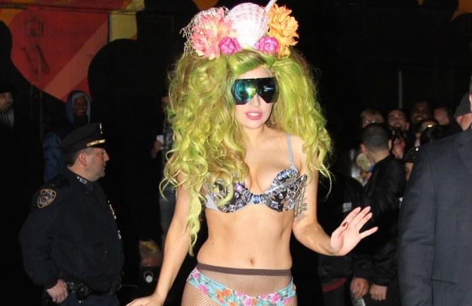Lady Gaga als Meerjungfrau