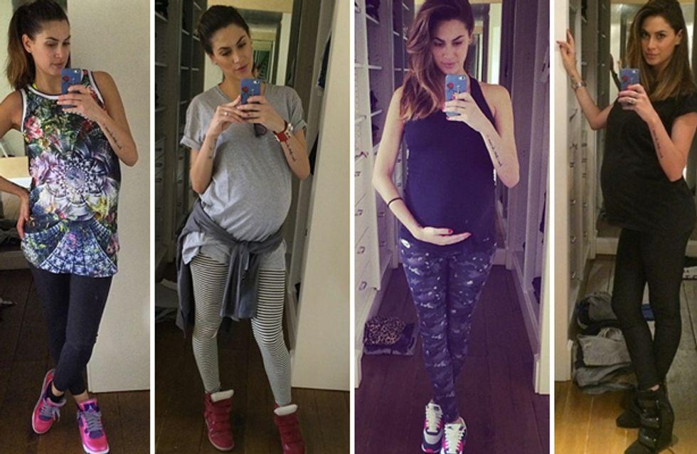 Melissa Satta: Ci siamo quasi! Le foto dei look della showgirl vicinissima al parto