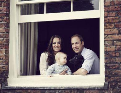 Kate Middleton, le prince William et baby George pour la fête des mères