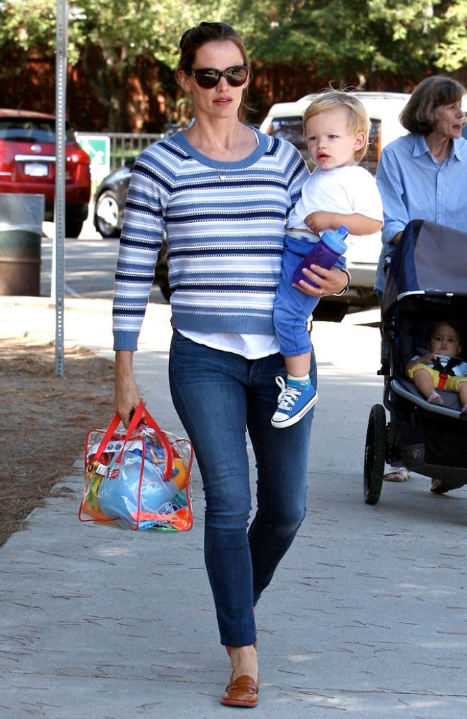 Jennifer Garner mit Sohn Samuel
