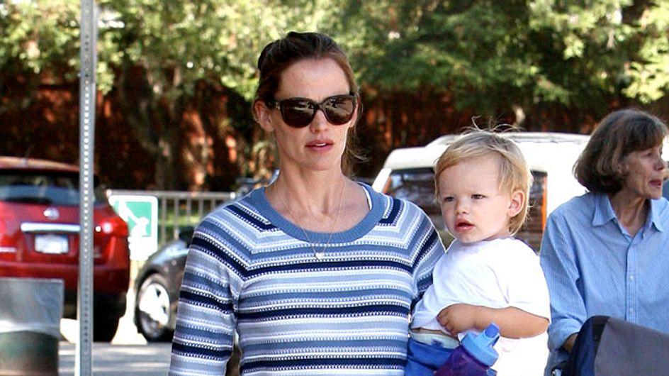 Mutterglück! Jennifer Garner ist vernarrt in Söhnchen Samuel