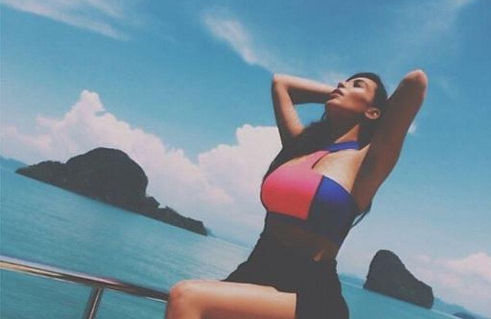 Kim Kardashian : Elle laisse tomber son mariage pour s'amuser en Thaïlande ! (Photos)