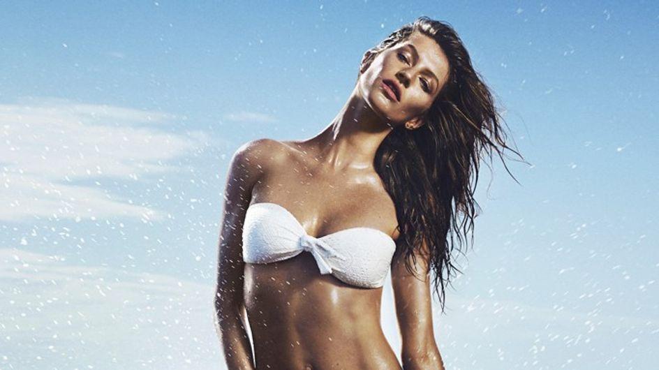 Gisele Bündchen : Enfin en bikini pour H&M