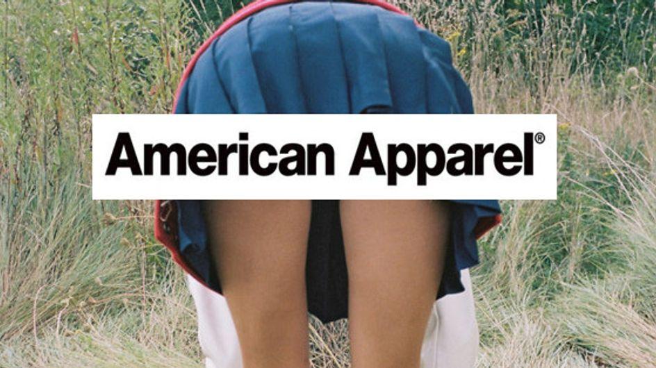 American Apparel : La marque remet ça avec une campagne à la limite du porno (photo)