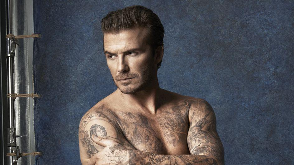 David Beckham: un adone in costume da bagno per H&M