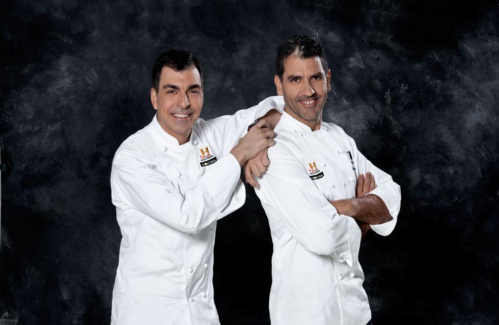 Paco Roncero y Ramón Freixa reinventan el menú de La última cena en un reto televisivo