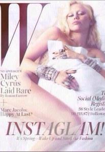 Miley Cyrus in versione diva d'altri tempi
