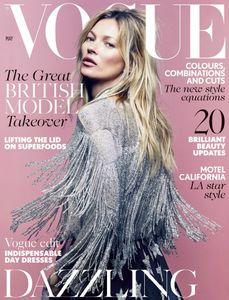 Kate Moss pour Vogue