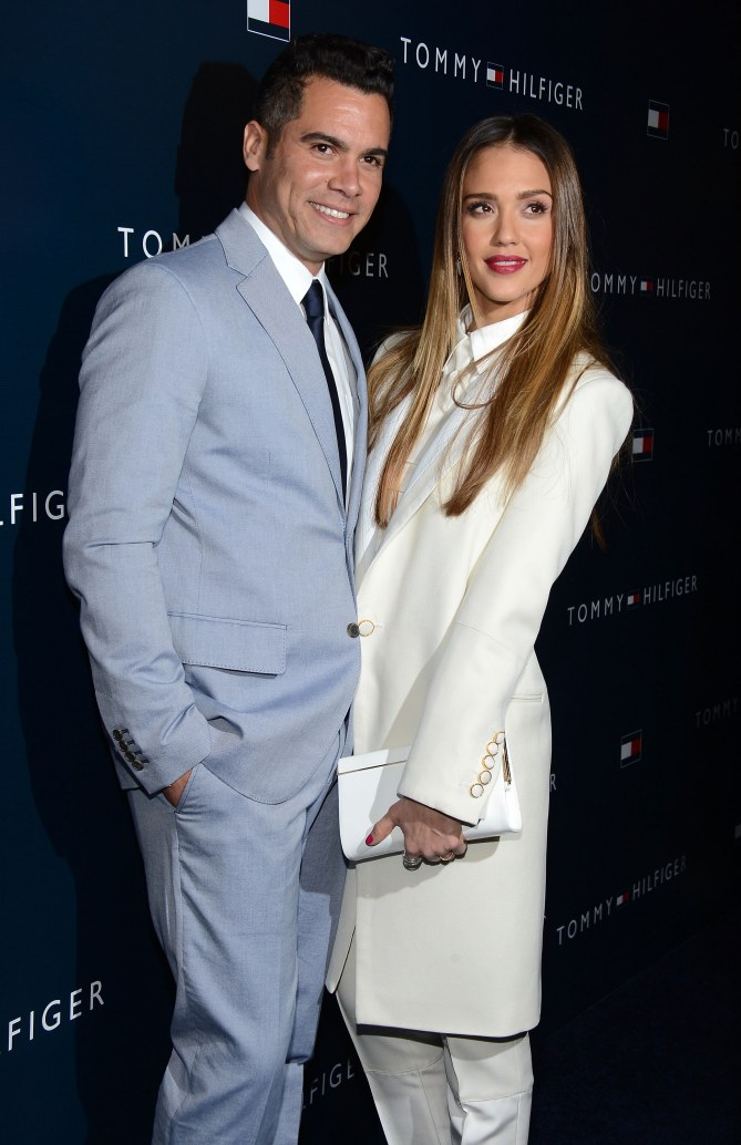 Jessica Alba et Cash Warren