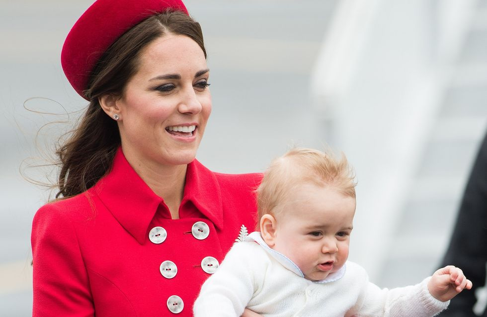 Kate Middleton : Ses premières photos avec George en Nouvelle-Zélande