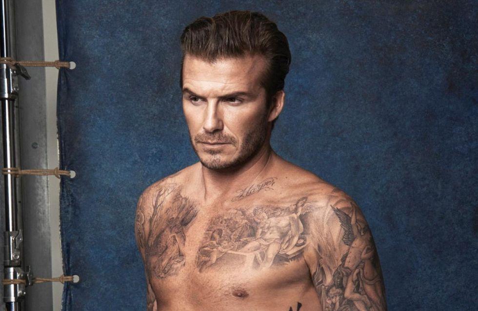 David Beckham : Abdos en béton et petit maillot pour H&M (photos)