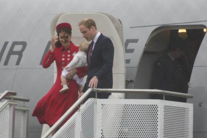 Kate e William insieme al piccolo George