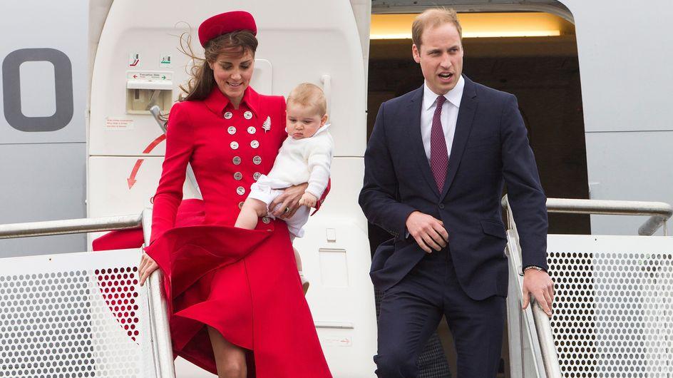 William e Kate in Australia con George. Le foto del 1° viaggio del futuro erede d'Inghilterra