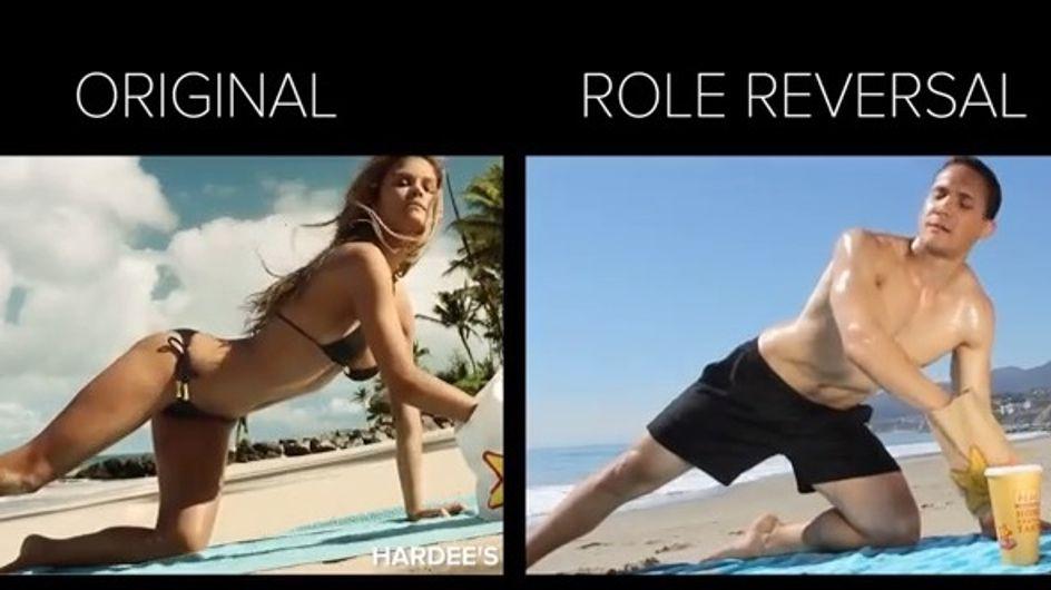 ¿Qué pasaría si los hombres interpretasen papeles femeninos en la publicidad?