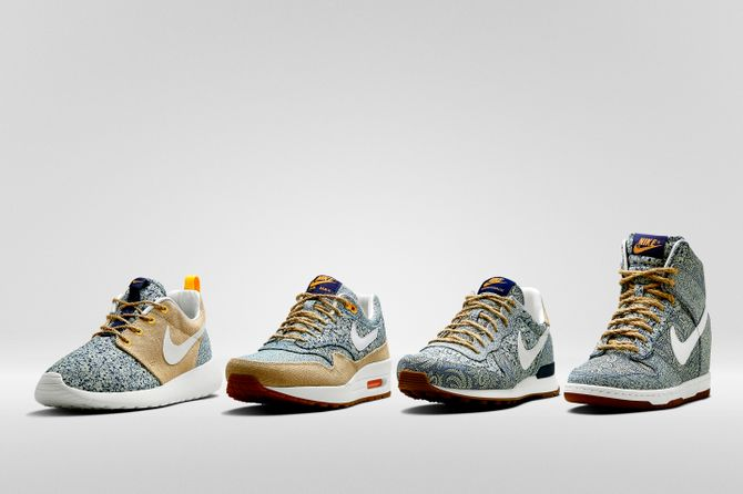 Nike x Liberty London - Collection été 2014
