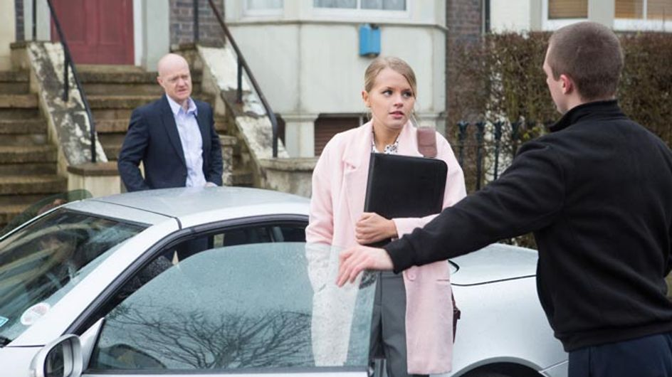 Eastenders 15/04 – Lucy and Lauren's open day is a hit, until Max shows up