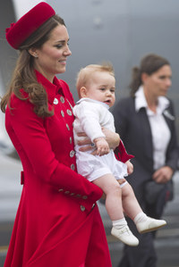 Kate Middleton y su hijo