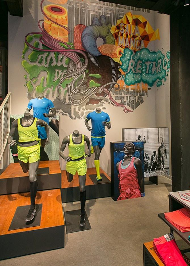 Flagship store de Nike en Serrano