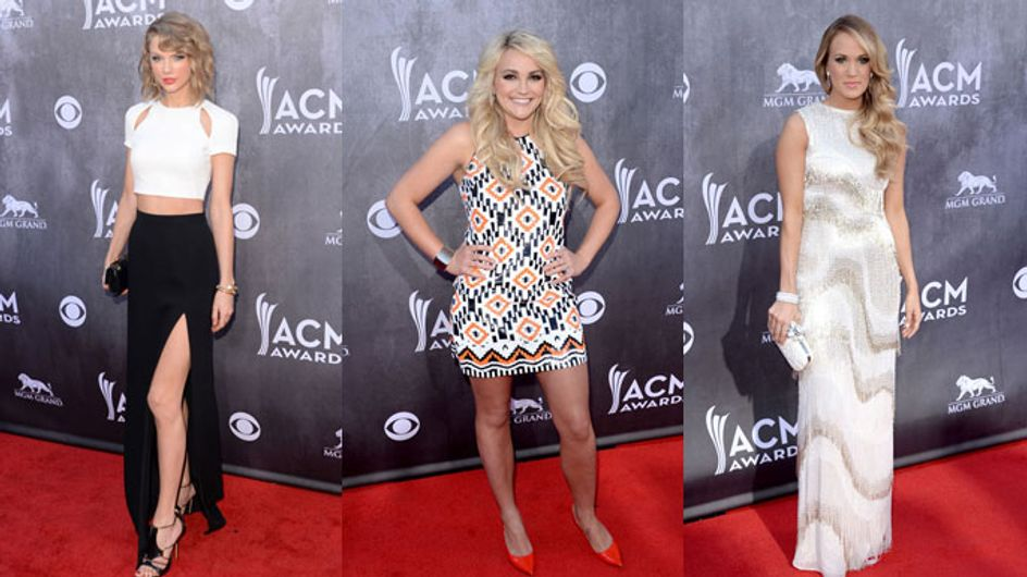 Taylor Swift, Carrie Underwood And More Dazzle At The 2014 ACM Awards- See What The Stars Wore