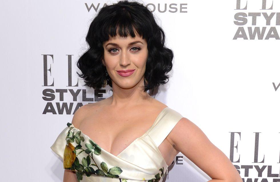 Katy Perry : Sa nouvelle couleur de cheveux trop bizarre (photo)