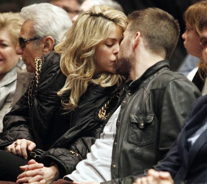 Shakira et Gerard Piqué