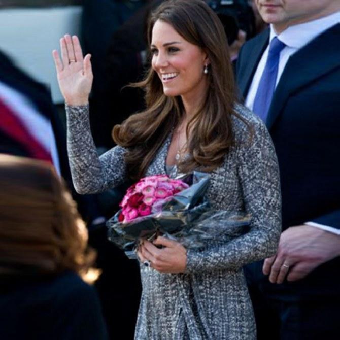 Kate Middleton et sa robe Max Mara