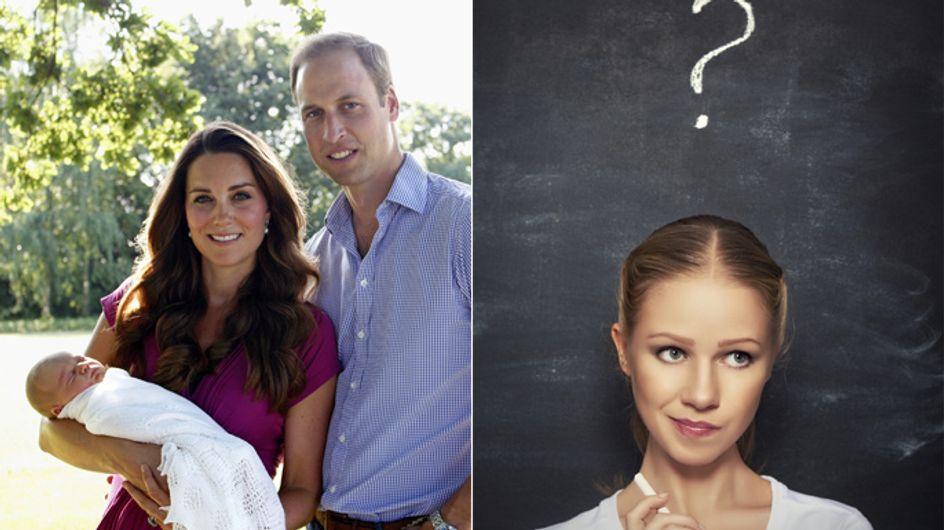 Wie wäre unser Leben eigentlich, wenn ... Kate & William unsere Eltern wären?