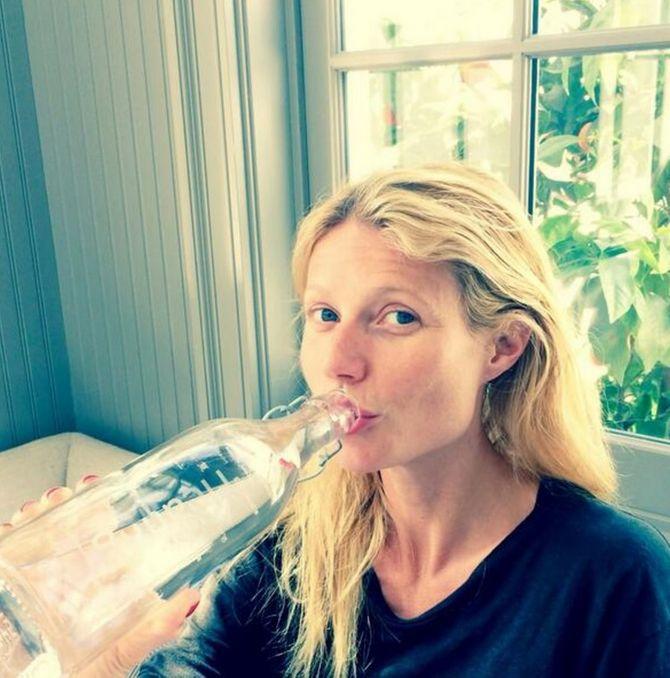 Gwyneth Paltrow sans maquillage